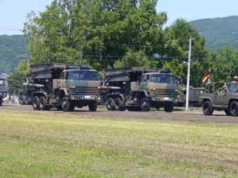 2007年第11師団真駒内駐屯地記念...